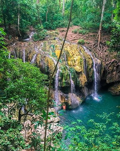 Las cascadas de guatemala, Finca el Paraíso - Foto IG @jessicagracewhalen