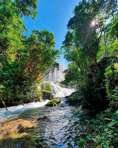 Las cascadas de guatemala, Santa Avelina - Foto IG @guatemalafeliz_