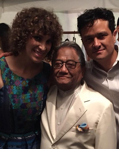 Las visitas de Armando Manzanero a Guatemala - Foto Gaby Moreno FB