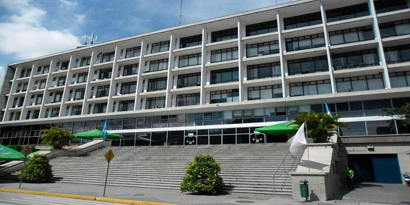 Pago de IUSI Ciudad de Guatemala, Palacio-municipal-Guatemala - Foto Radio Huancavilca