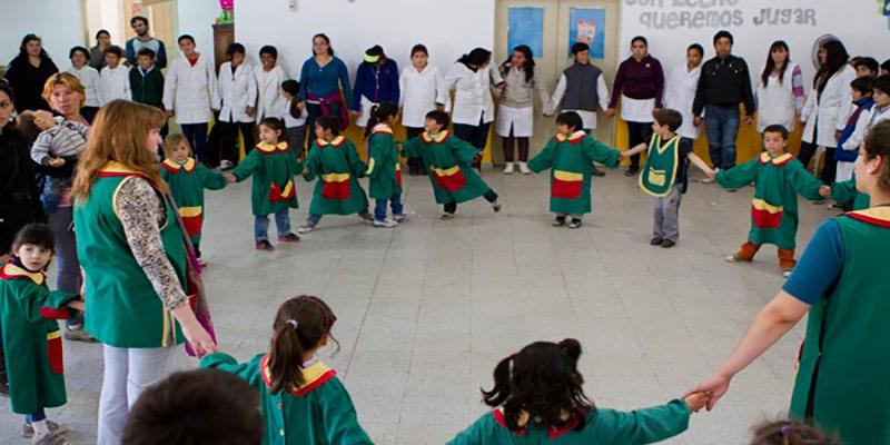 Qué son las rondas infantiles en Guatemala - Foto Fundación Acor