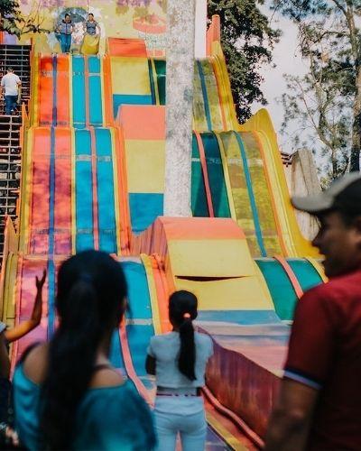 Resbaladero gigante de Esquilandia, 2019 - Foto esquilandia.gt instagram