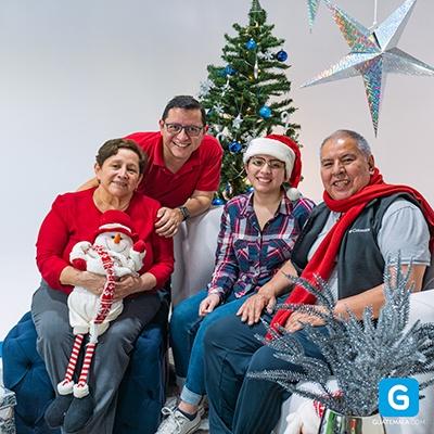 Tradiciones guatemaltecas en Navidad - Foto Familia Aroche