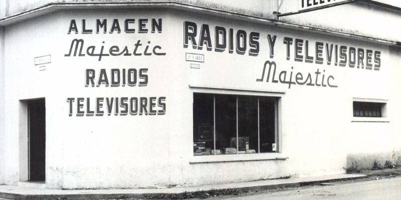 Descripción de foto - Primera sala de ventas de SIELCA ubicado en la zona 1 de la Ciudad Capital en 1969. - Crédito - Grupo Distelsa