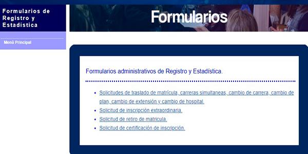 Descripción de la foto - portal de la sección de formularios para los casos especiales que lo necesiten - Crédito Guatemala . com