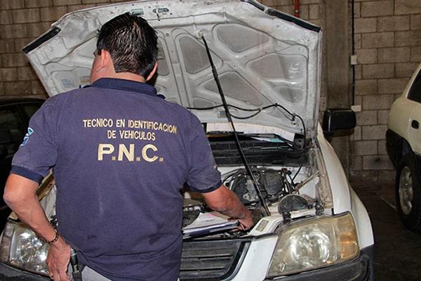Pasos para el expertaje de vehículos en línea en Guatemala - foto - policía nacional civil blog