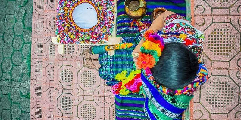 Traje regional de San Andrés Xecul, Guatemala