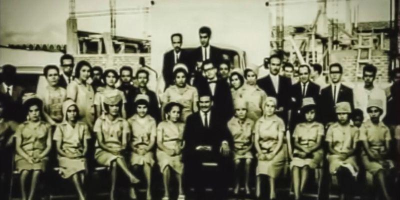 Descripción de foto - Primer equipo, conformado por hombres y mujeres, de Malher en los años 60. - Crédito de foto - Malher
