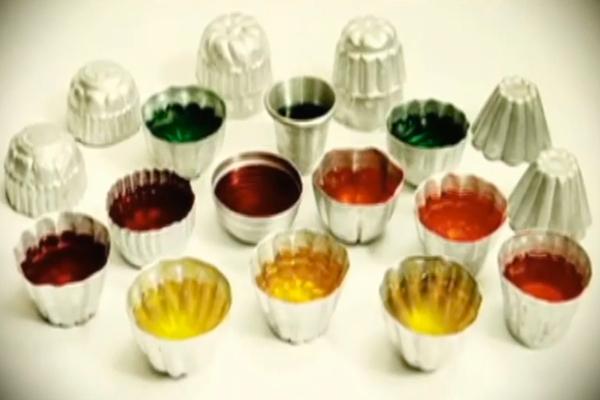 Descripción de foto - Primeras gelatinas sin refrigerar hechas por María García. - Crédito de foto - Malher