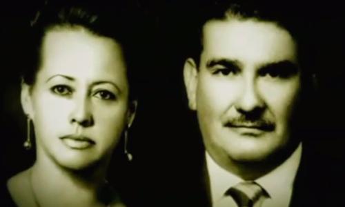 Descripción de foto - Retrato de María García y Miguel Ángel Maldonado en blanco y negro. - Crédito de foto - Malher
