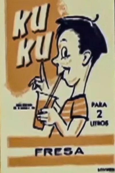 Descripción de foto - Sobrecito con la soda en polvo Ku Ku de sabor a fresa. - Crédito de foto - Malher