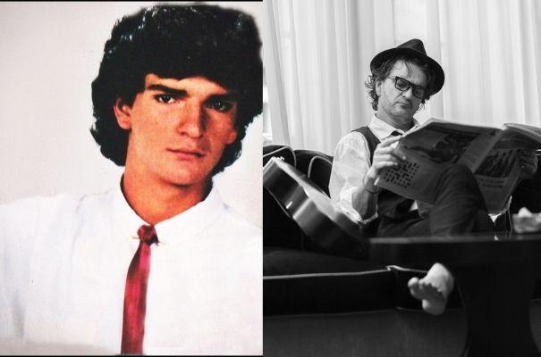Descripción de foto - de lado izquierdo, Ricardo Arjona joven. De lado derecho, Ricardo Arjona adulto. - Crédito de foto - Ricardo Arjona