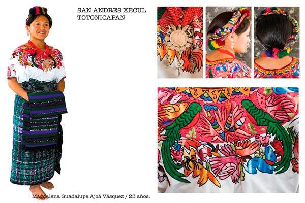 Descripción de foto - traje regional femenino de San Andrés Xecul. - Descripción de foto. - Nancy Chuy