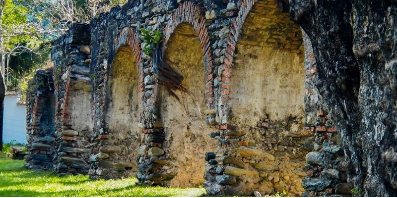El antiguo arco de San Jerónimo, Baja Verapaz