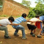 Juego del arranca cebollas en Guatemala