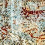 """Pinturas rupestres del sitio """"El Encanto"""", Nentón, Huehuetenango"""