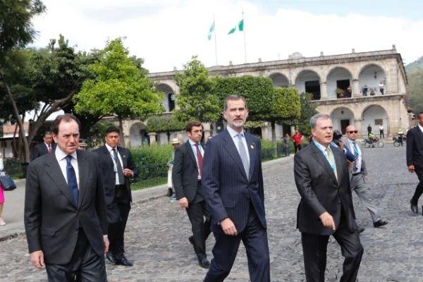 Gobernantes extranjeros que han visitado Guatemala-