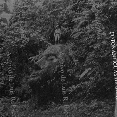 La misteriosa cabeza gigante de Guatemala.