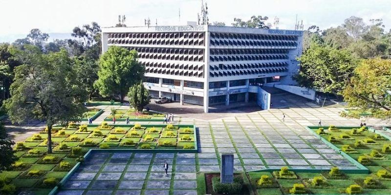 Mapa del Campus Central de la USAC, Guatemala