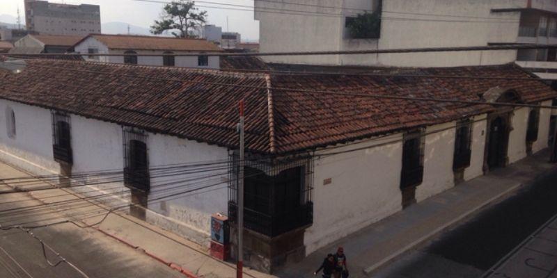 Historia de la Casa Oliver, ciudad de Guatemala