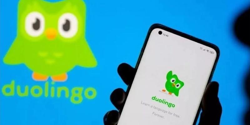 Historia de la aplicación Duolingo