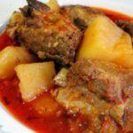 Receta para cocinar recado rojo guatemalteco