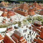 ¿De qué color eran las pirámides mayas?