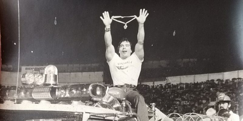 Biografía de José Rolando de León, paraatleta guatemalteco de halterofilia
